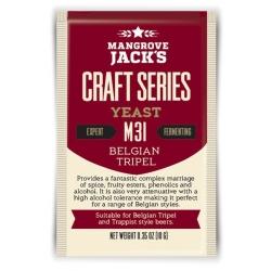 "Дрожжи верхового брожения ""Belgian Tripel Yeast"" M31 10 гр. Mangrove Jacks (Новая Зеландия)"