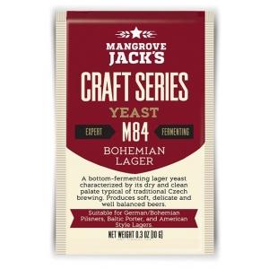 """Дрожжи низового брожения """"Bohemian Lager M84"""" 10 гр. Mangrove Jacks (Новая Зеландия)"""