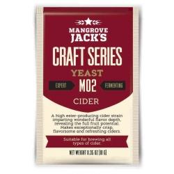 """Дрожжи верхового брожения """"Craft Series Cider Yeast M02"""" 10 гр. Mangrove Jacks (Новая Зеландия)"""