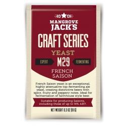 "Дрожжи верхового брожения ""French Saison Yeast"" M29 10 гр. Mangrove Jacks (Новая Зеландия)"