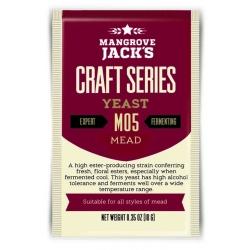 "Дрожжи верхового брожения ""Mead Yeast"" M05 10 гр. Mangrove Jacks (Новая Зеландия)"