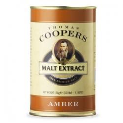 "Неохмеленный солодовый экстракт Coopers ""Amber"" (Янтарный) 1,5 кг"