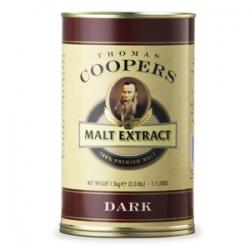 """Неохмеленный солодовый экстракт Coopers """"Dark"""" (Темный) 1,5 кг"""