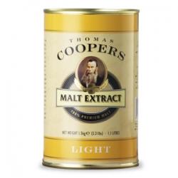 """Неохмеленный солодовый экстракт Coopers """"Light"""" (Светлый) 1,5 кг"""