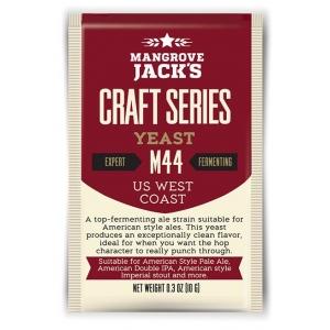 """Дрожжи верхового брожения """"US West Coast Yeast M44"""" 10 гр. Mangrove Jacks (Новая Зеландия)"""