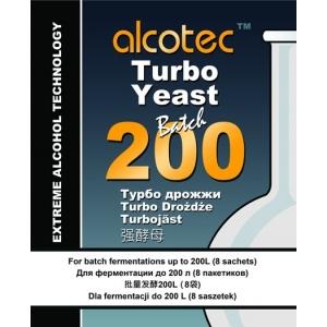 Спиртовые дрожжи Alcotec Batch 200, 86 гр. (Англия)