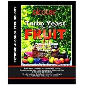 Спиртовые дрожжи Alcotec Fruit Turbo 60 гр. (Англия)