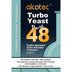 Спиртовые дрожжи Alcotec 48 Turbo, 135 гр. (Англия)