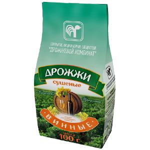 Дрожжи сушёные винные 100 граммов (Республика Беларусь)