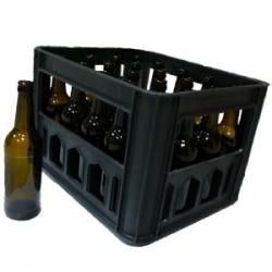 Коричневая бутылка стеклянная 0,5 л ящик 20 бутылок