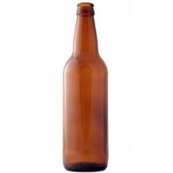 Стеклянная бутылка 0,5 л коричневая