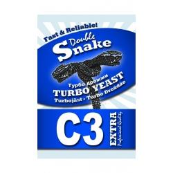 Спиртовые дрожжи Double Snake C3 Turbo 90 гр. (Англия)