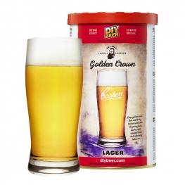 "Пивной экстракт Coopers ""Golden Crown Lager"" 1,7 кг"