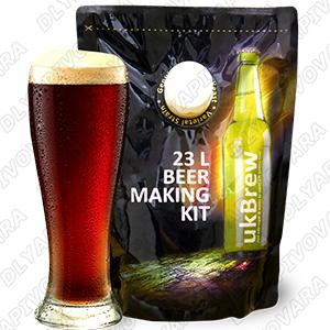 """Пивной экстракт UK BREW """"Dark Ale"""" 1,6 кг."""