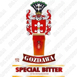 Gozdawa Special Bitter 1,7 кг. (верхового брожения)