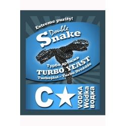 Спиртовые дрожжи DoubleSnake C-Star Turbo 66 гр. (Англия)