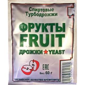 Спиртовые турбо дрожжи Bragman Fruity 60 гр. (Bragman)