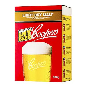 Сухой солодовый экстракт Coopers light dry malt 500 грамм