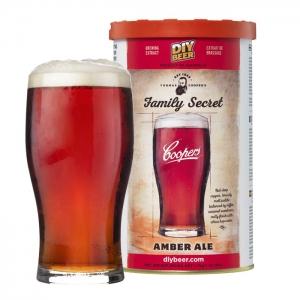 """Пивной экстракт Cooper's """"Family Secret Amber Ale"""" 1,7 кг"""