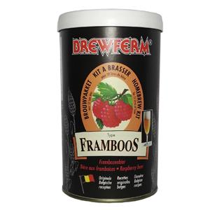 Пивной экстракт Brewferm Framboos (Малиновое)1,5 кг