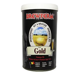 Пивной экстракт Brewferm Gold (золотистое)1,5 кг