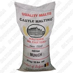 Солод Chateau Munich (Мюник) 28 EBC 25 кг (CASTLE MALTING - Бельгия)