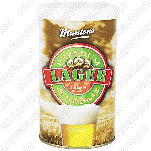 """Пивной экстракт Muntons Premium """"Lager"""" 1,5 кг."""