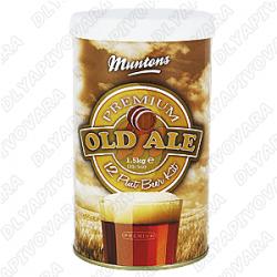 """Пивной экстракт Muntons Premium """"Old Ale"""" 1,5 кг."""