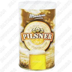 """Пивной экстракт Muntons Premium """"Pilsner"""" 1,5 кг."""