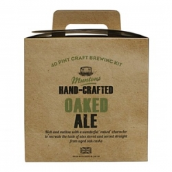 "Пивной экстракт Muntons Hand-Crafted ""Oaked Ale"" 3,6 кг."