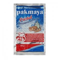 """Дрожжи сухие активные """"Pakmaya cristal"""" 100 граммов (Турция)"""