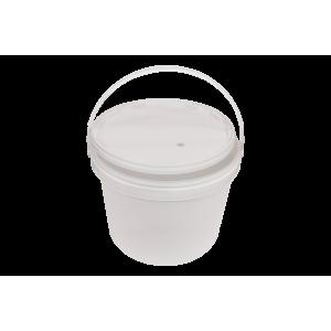 Емкость для брожения 10 л с крышкой с отверстием под г/з