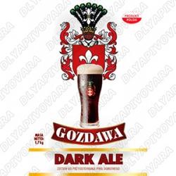 Gozdawa Dark Ale 1,7 кг. (верхового брожения)