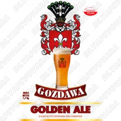 Gozdawa Golden Ale 1,7 кг. (верхового брожения)