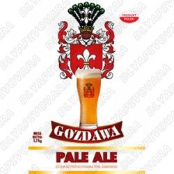 Gozdawa Pale Ale 1,7 кг. (верхового брожения)