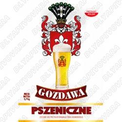 Gozdawa Weizen 1,7 кг. (верхового брожения)