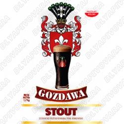 Gozdawa Stout 1,7 кг. (верхового брожения)