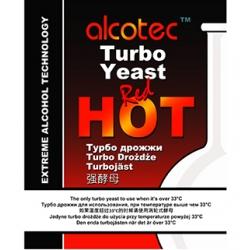 Спиртовые дрожжи Alcotec Red Hot 90 граммов (Англия)