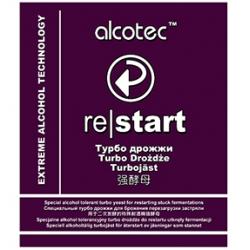 Спиртовые дрожжи Alcotec Restart Turbo Yeast 29 граммов (Англия)