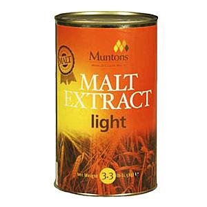 """Неохмеленный солодовый экстракт Muntons """"Light"""" (Светлый) 1,5 кг"""
