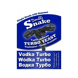Спиртовые дрожжи Double Snake Vodka Turbo 70 гр. (Англия)